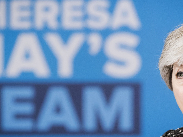 Theresa May Dominates Media Coverage In First Week Of 2017 General Election Campaign