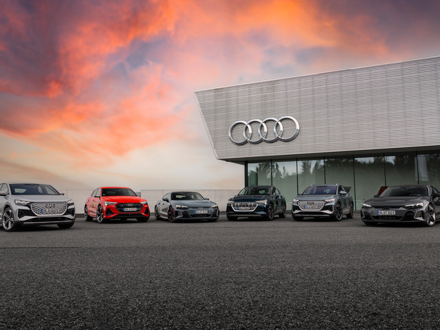 Audi to launch only EVs from 2026