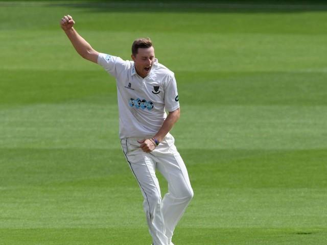 Ben Sanderson swings see-saw match Northants' way