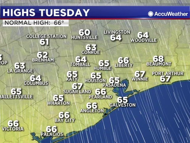 Houston Weather: Sunny but cold Wednesday morning