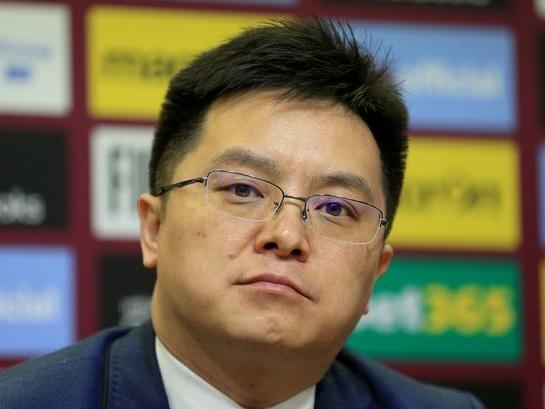 Tony Xia has one-word reaction to Villa's win against Everton