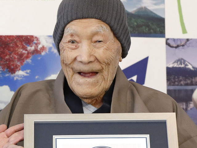 The World's Oldest Man Dies In Japan At 113