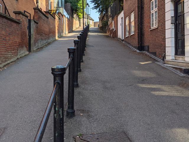 London's Alleys: Trinity Walk, NW3
