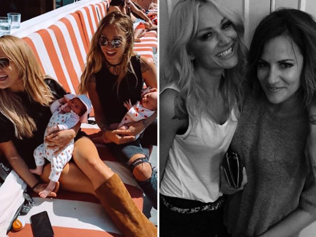 Caroline Flack's best friend Lou Teasdale pays tribute with unseen pic of star one month after her death