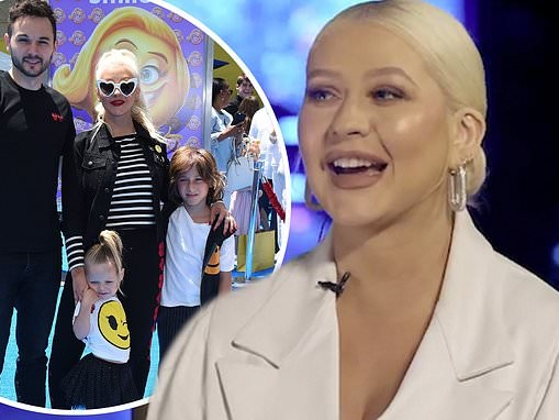 Christina Aguilera says she would support her son Max, 11, if he wanted to follow in her footsteps