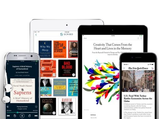Scribd and The New York Times announce a joint $12.99 subscription