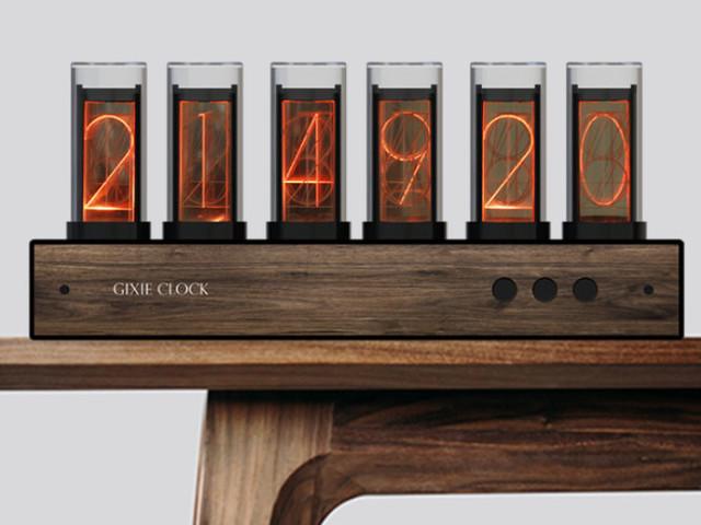 Gixie Nixie tube clock from $62