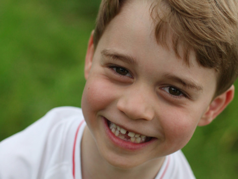 Prince George Grins With A Missing Tooth In New Portraits Ahead Of His 6th Birthday