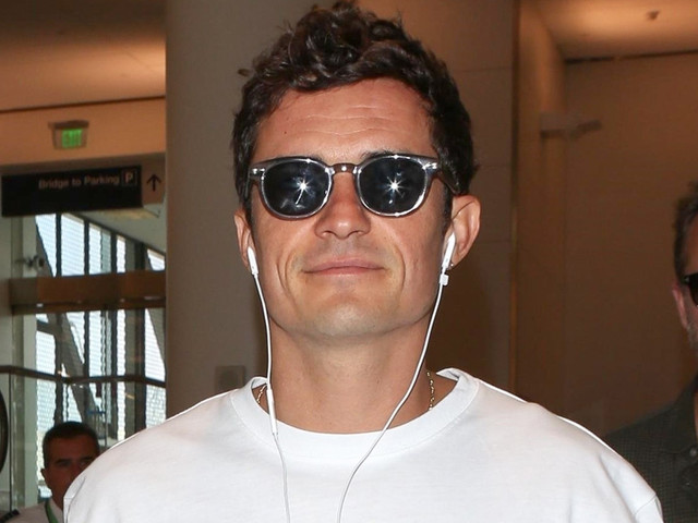 Orlando Bloom Jets Out Of Town After Spending the Weekend with Katy Perry