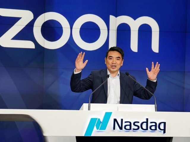 Video-conferencing company Zoom just had its best trading day in 8 months, as coronavirus fears mean that more people work from home (ZM)