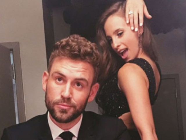 Nick Viall and Fiancée Vanessa Grimaldi Talk Life After 'The Bachelor,' Play 'The Newly Engaged Game' on 'Jimmy Kimmel Live'