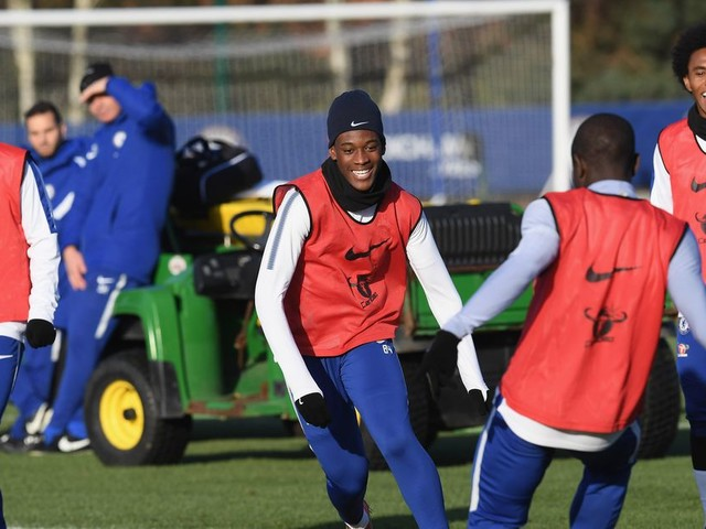 Callum Hudson-Odoi looking to emulate idols Hazard, Drogba, Willian