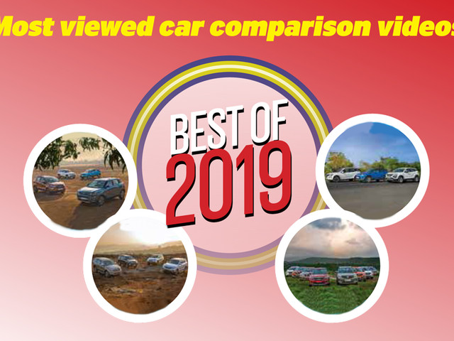 Best of 2019: Most viewed car comparison videos