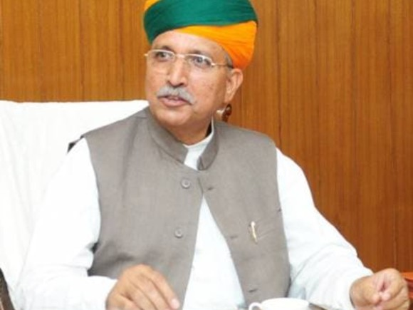 Union Minister Arjun Ram Meghwal tests positive for COVID-19