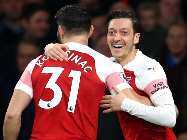 Mesut Ozil looks forward to an exciting future at Mikel Arteta's Arsenal