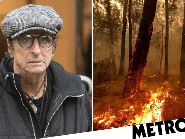 Alice Cooper vows to 'do anything to help Australia' after 28 people are killed in bushfires