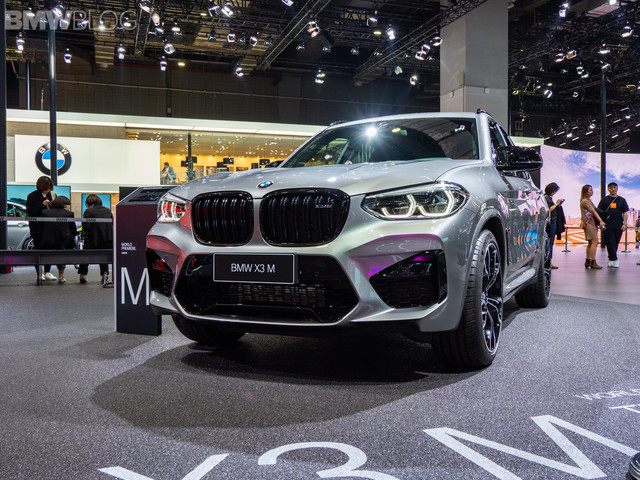 LIVE PHOTOS: BMW X3 M Competition live from Shanghai