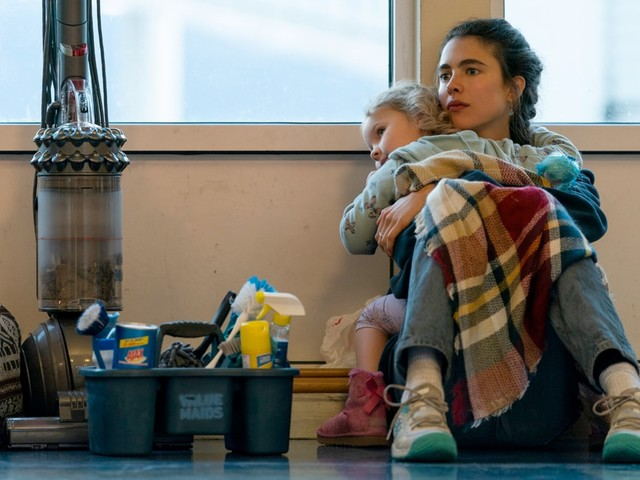 Netflix's 'Maid' Review: Margaret Qualley's White Single Mom Gets Swept Away in Weepy Drama