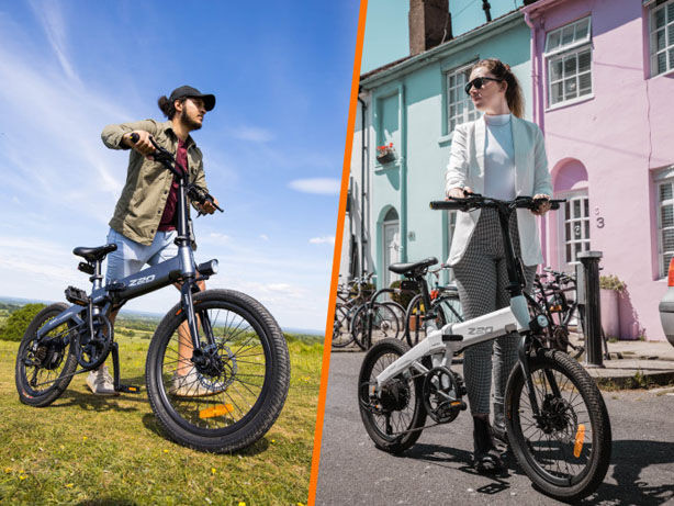 Folding Dual-Mode Electric Bikes - The HIMO Z20 eBike Offers Riders a Dynamic Experience (TrendHunter.com)
