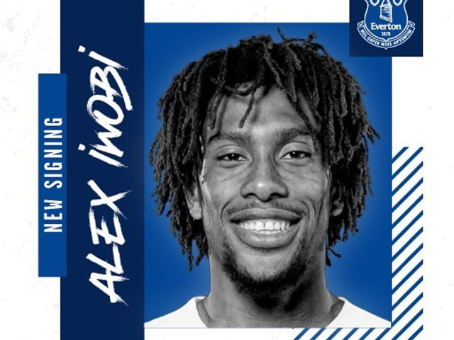 Everton confirm £40m transfer of Alex Iwobi from Arsenal on five-year contract in deadline day shock