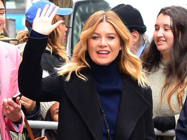 Ellen Pompeo Stops By 'The View' on Her Birthday!