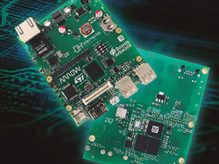 Sandwich-style 96Boards SBC runs Linux on ST's new Cortex-A7