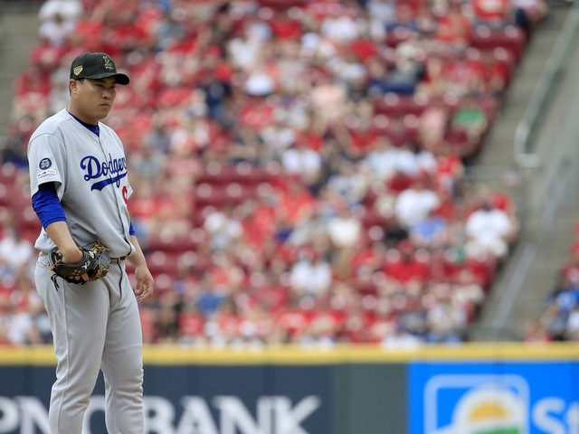 Hyun-jin Ryu has turned into the Dodgers' hottest ace