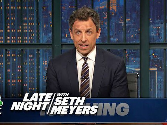 Seth Meyers won't let Rep. Steve King get away with his 'Babies' tweet