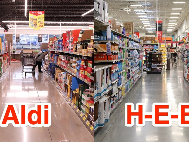 We visited two of the best grocery stores in the US. Here's why Aldi is better than H-E-B for the budget shopper who hates to shop.