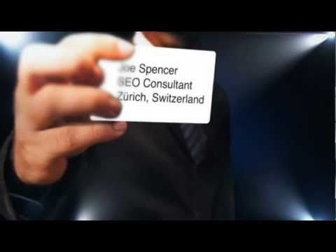 SEO Consultant Joe Spencer - Spencer e-Strategies - Zürich ...