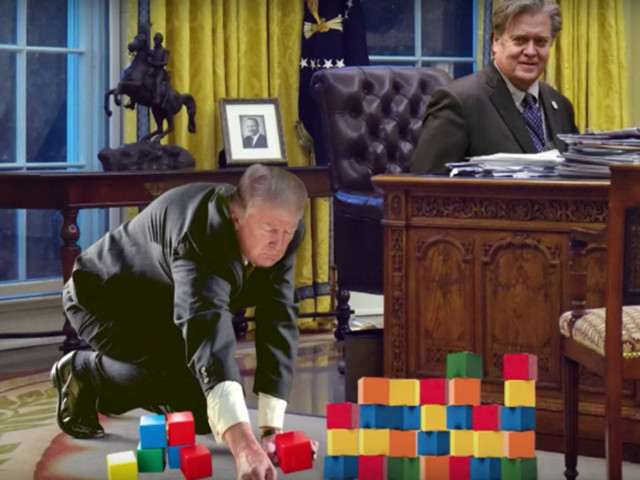 """Seth Meyers Thinks We Need to Totally Stop With the Whole """"President Bannon"""" Thing"""
