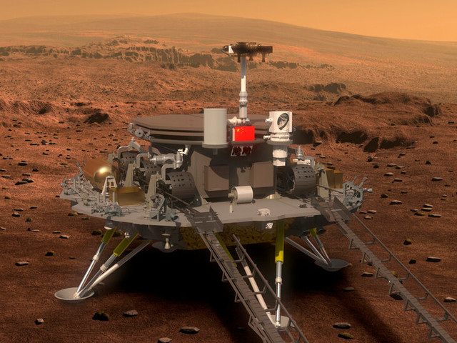 What We Know About China's Mars Rover Zhurong Landing