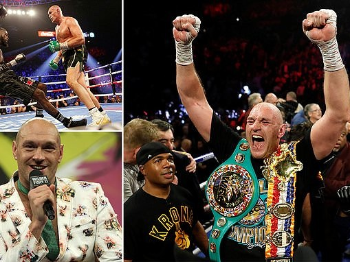 MARTIN SAMUEL: Tyson Fury may claim to be crazy but he looks the smartest man in boxing
