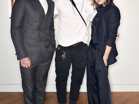 Victoria Beckham & David Beckham: Brooklyn's Book Launch