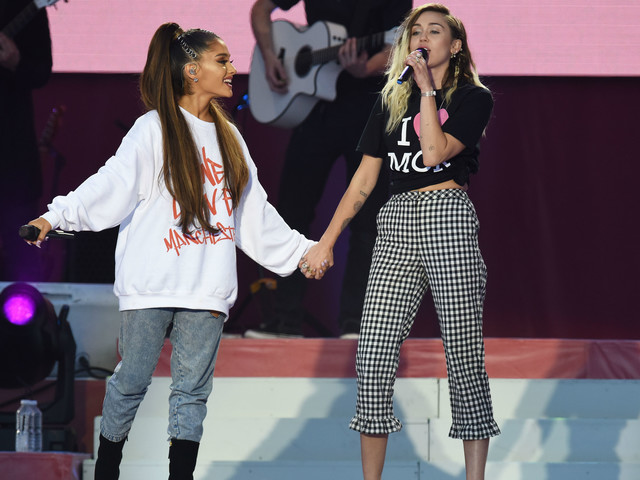 Ariana Grande praised for 'inspirational' One Love Manchester concert
