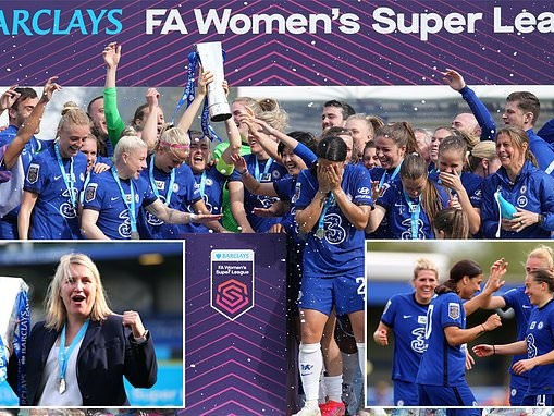 Super Fran seals the title! Kirby the star as Chelsea thrash Reading to secure record fourth WSL