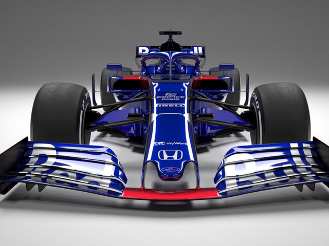 Toro Rosso STR14 F1 2019 car launch: video and pictures