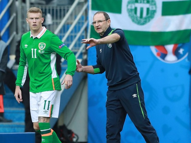 Republic of Ireland round-up: Brady in the clear, Dyche offers Walters lifeline and McClean thanks Martin O'Neill