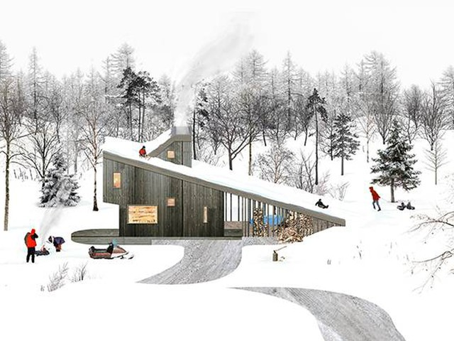 Five architects design a lineup of cozy abodes that embrace Canada'scold