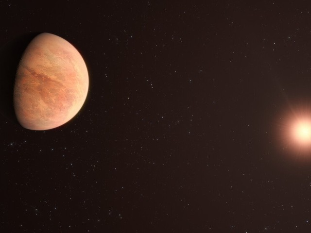 New observations show rocky exoplanet has just half the mass of Venus