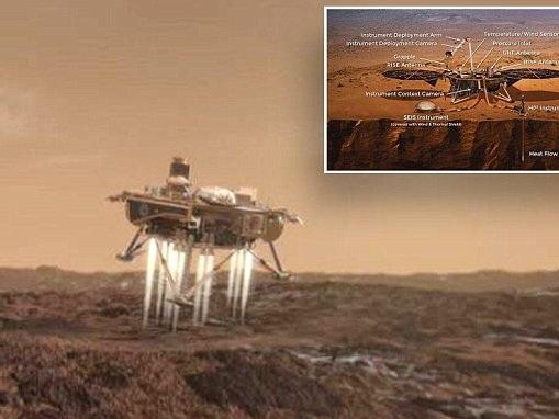Nasa's InSight lander will make it to Mars despite storm