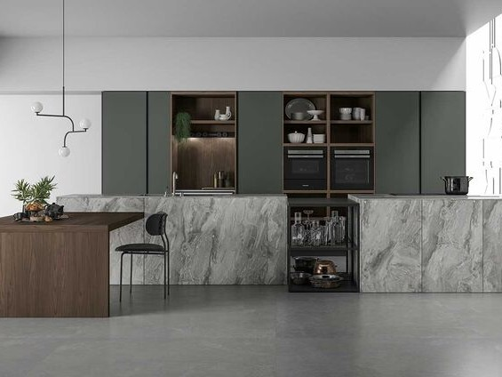 Custom-Designed Modular Kitchens - Doimo Cucine's All-ArounD Line Responds to Each Client's Needs (TrendHunter.com)