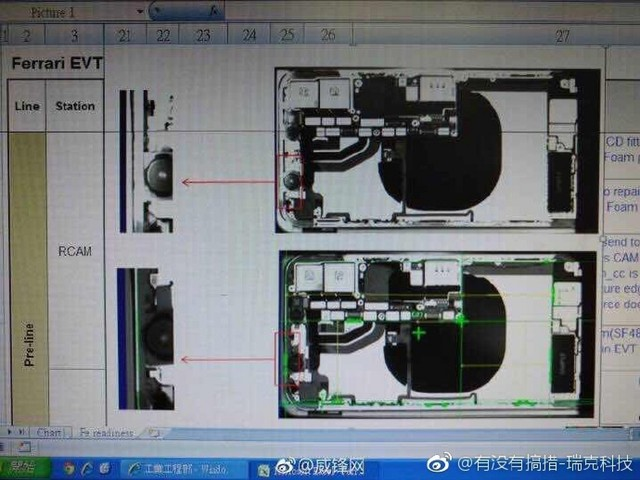 Leaked Foxconn Images Show Off Internals of iPhone 8, Including Wireless Charging Coil