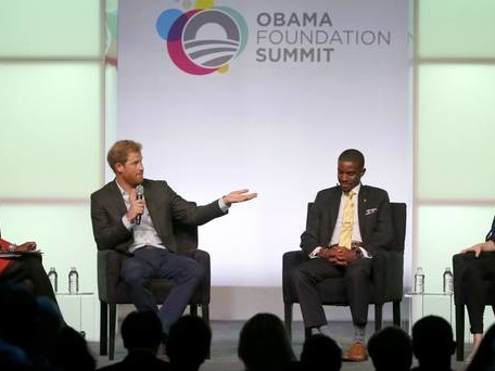 Younger generation give me passion and inspiration, Prince Harry tells summit