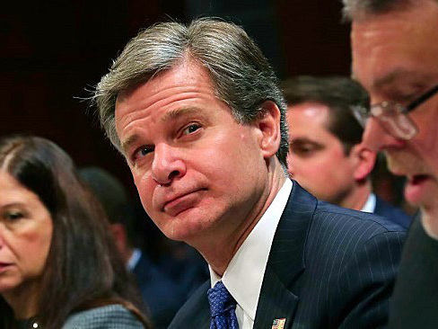 FBI Director Christopher Wray Strenuously Defends The Bureau Against Trump's Tweet Claiming It Was 'In Tatters'