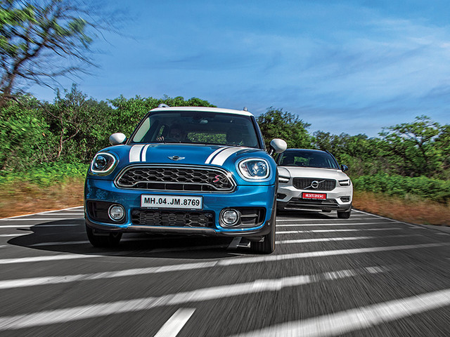 Review: Mini Countryman vs Volvo XC40 comparison