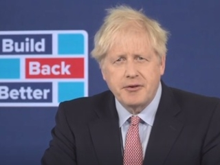 Boris Johnson: 'We are progressing with gale force speed on the green economy'