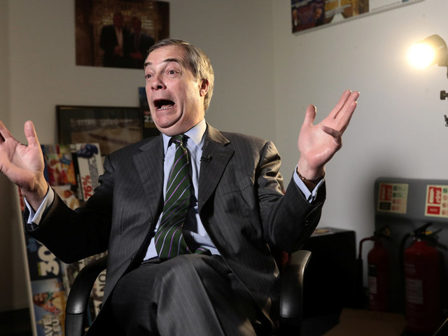 Nigel Farage: 'Brexit Betrayal' Will Plunge UK Into Chaos Says Man Who Helped Plunge UK Into Chaos