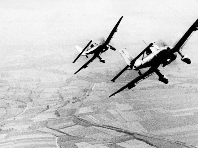 It's been 77 years since the Battle of Britain — here are 14 photos of the Nazi onslaught in the skies of England