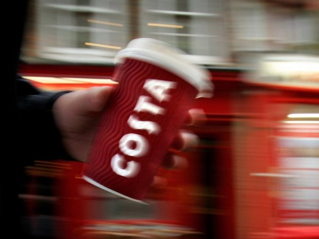 Shares in one of Britain's biggest coffee chains surge 20% after Coca-Cola announces $5.1 billion takeover